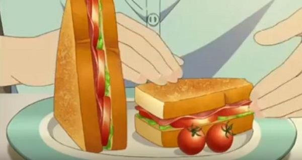 koihaameagarinoyouni sandwich.JPG
